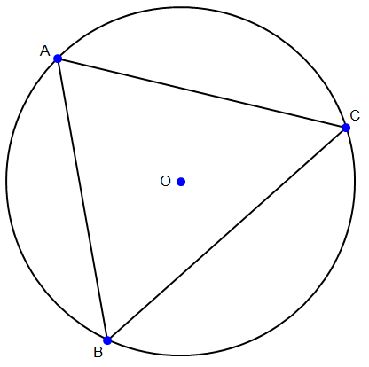 Menggambar Lingkaran Luar Segitiga