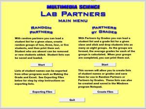Screenshot Lab Partners