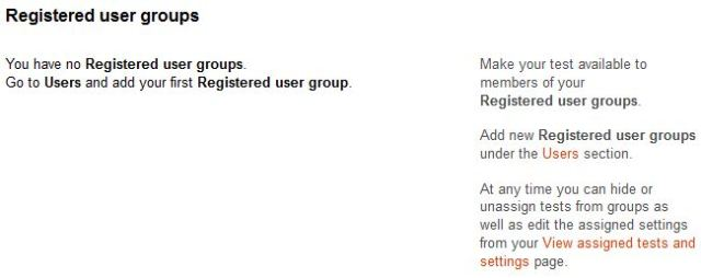 Register users group