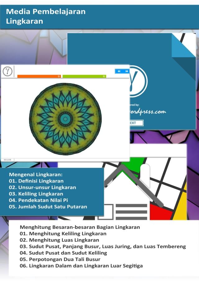 Poster Media Pembelajaran Lingkaran Kelas VIII 12.05