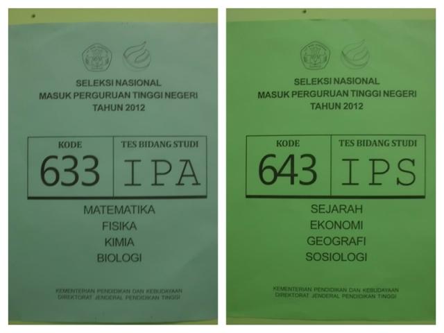 SNMPTN 2012 IPC
