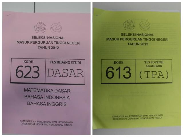 Seleksi Nasional Masuk Perguruan Tinggi Negeri (SNMPTN) tahun 2012