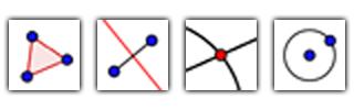 Icon Toolbar GeoGebra