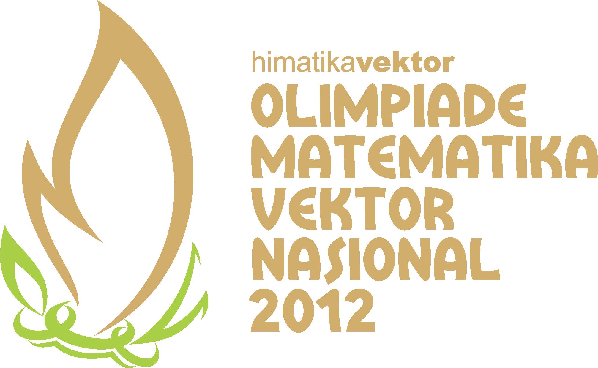 olimpiade matematika vektor nasional 2012 pendidikan