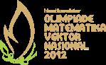 Logo Olimpiade Matematika Vektor Nasional 2012