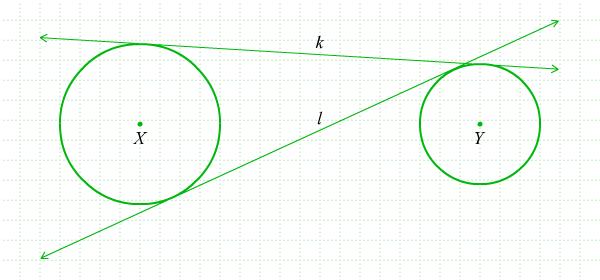 Garis Singgung Persekutuan Dua Lingkaran