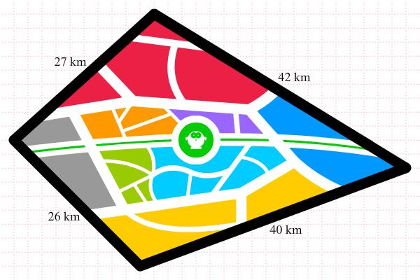 Peta Kota Baru