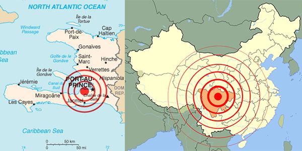 Radius Gempa Bumi
