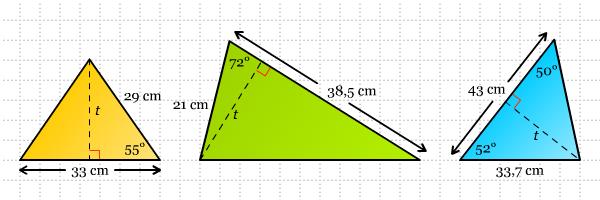 Luas Segitiga-segitiga