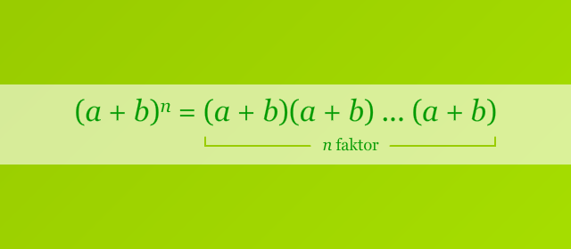 Pangkat n Binomial