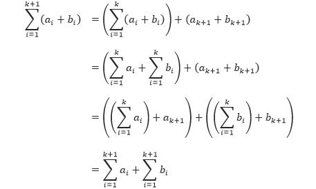 Bukti P(k+1)