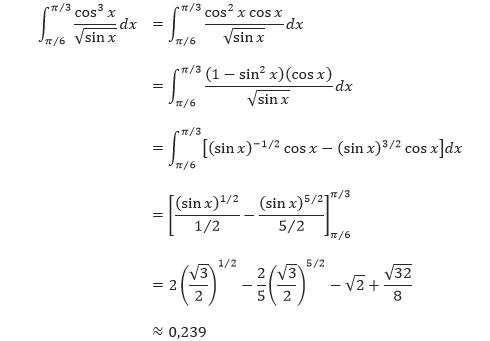 Soal dan pembahasan integral trigonometri pdf