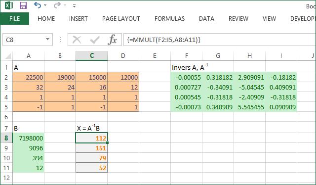 Contoh 5 Excel