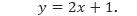 Contoh 1 Persamaan y
