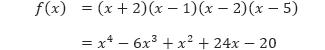 Contoh 6 f(x)