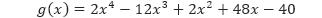 Contoh 6 g(x)